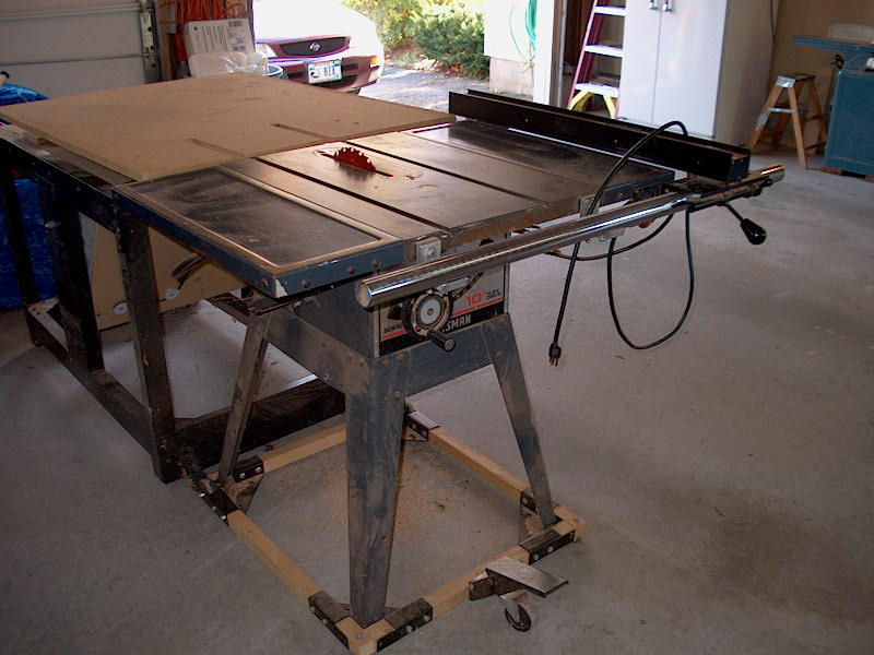 Fence upgrade for Jet contractor table saw? - DIYbanter
