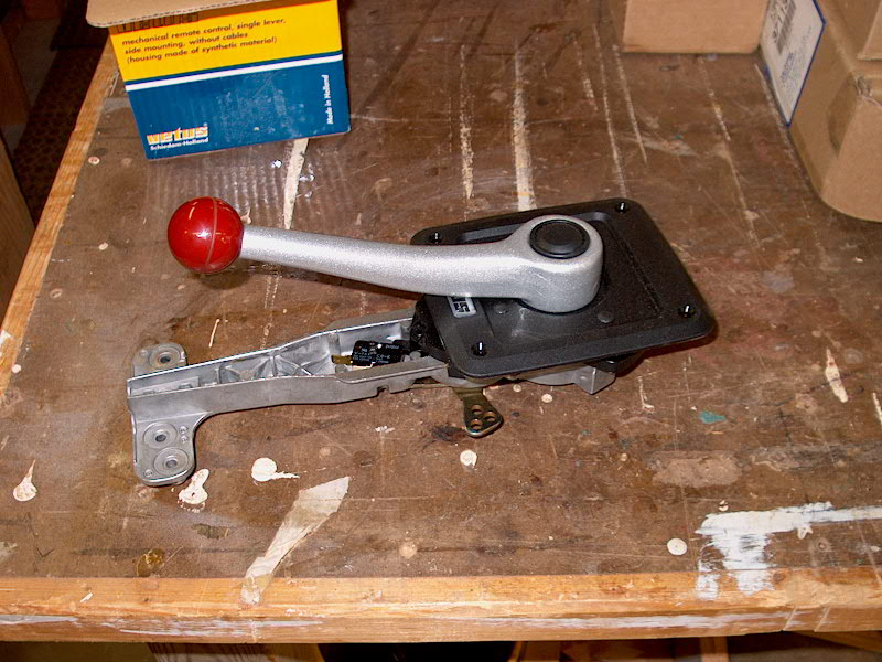 Single Lever Controls : Pearson triton glissando vetus single lever engine